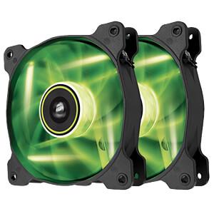 Corsair SP120 Gehäuselüfter, 120 mm, LED grün, x2 CORSAIR CO-9050032-WW