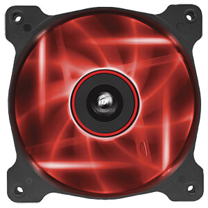 Corsair SP120 Gehäuselüfter, 120 mm, LED rot, x2 CORSAIR CO-9050029-WW