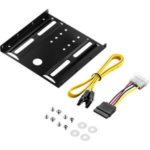 MK-MK1178 - SSD Einbaurahmen Set - 2,5'' SSD auf 3,5''