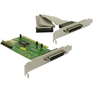 2 Port, parallel, PCI Karte DELOCK 89016