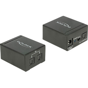 DELOCK 18767 - TOSLINK Switch 2x TOSLINK in > 1x TOSLINK out