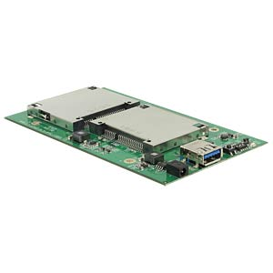 Card Reader, extern, USB 3.1, Gehäuse, CFast, Dual DELOCK 42582