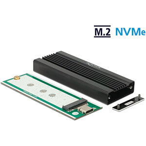 External Enclosure for M.2 NVMe PCIe SSD, USB 3.1 DELOCK 42600