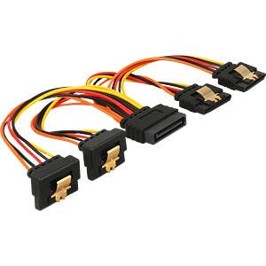 SATA 15 Pin Stecker > SATA 15 Pin Buchse 2 x gerade, 2 x unten 1 DELOCK 60150