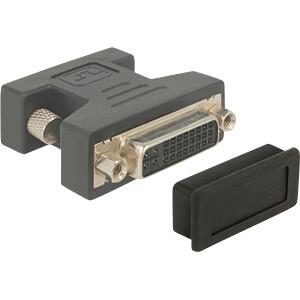 Staubschutz für DVI Buchse, 10 Stück schwarz DELOCK 60160