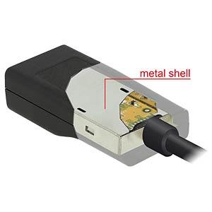 USB C Stecker auf VGA Buchse DELOCK 62796