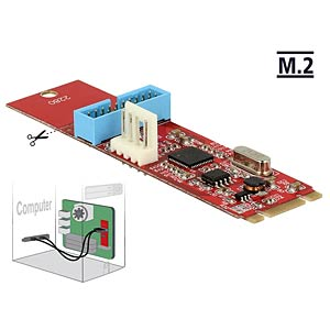 DELOCK 62842 - Konverter M.2 Key B+M > 1 x USB 3.0