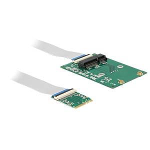 Konverter M.2 Key A+E > 1 x miniPCIe DELOCK 62848
