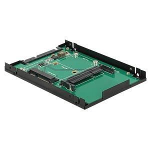Konverter SATA 22 Pin > mSATA / CFast DELOCK 62862