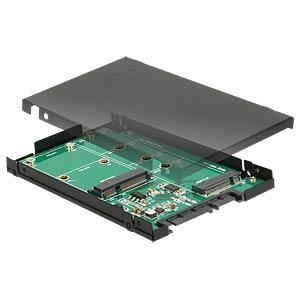 Konverter SATA 22 Pin > M.2 / mSATA DELOCK 62866