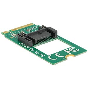 Adapter M.2 Key B Stecker > SATA 7 Pin DELOCK 62876