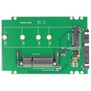 Konverter SATA 22 Pin > 1 x M.2 / 1 x CFast DELOCK 62944