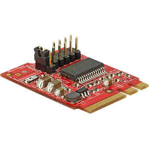 Konverter M.2 Key A+E > 1 x seriell RS232 DELOCK 62951