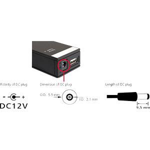 USB 2.0 Konverter mit 3 kV Isolation DELOCK 62982