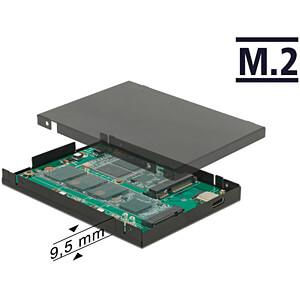 Delock Konverter USB 3.1 Type-C > M.2 + mSATA, 2,5 Gehäuse DELOCK 62986