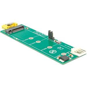 DELOCK 63917 - Konverter SATA Pin 8 Power Buchse > M.2 Key B Slot