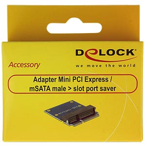 Adapter miniPCIe / mSATA DELOCK 65836