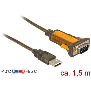 Delock USB 2.0 Konverter, A Stecker auf RS-232 DELOCK 65840
