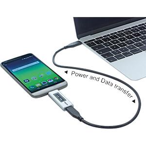 USB Type C PD-Adapter mit Anzeige DELOCK 65844