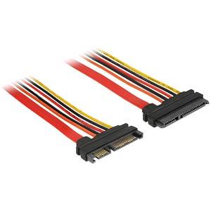 Verlängerungskabel SATA 22-Pin 100 cm DELOCK 84921