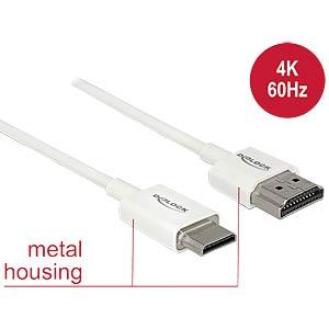 HDMI-A Stecker > HDMI Mini-C Stecker 4K 0,5 m DELOCK 85141