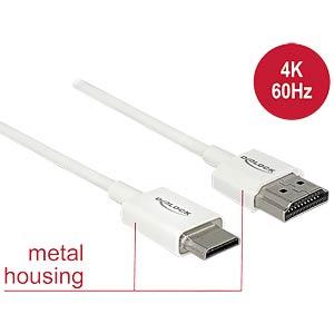 HDMI-A Stecker > HDMI Mini-C Stecker 4K 1 m DELOCK 85142