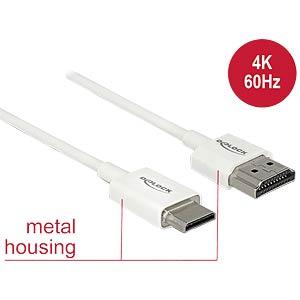 HDMI-A male > HDMI Mini-C male 4K 2 m DELOCK 85144
