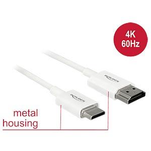 HDMI-A Stecker > HDMI Mini-C Stecker 4K 4,5 m DELOCK 85146