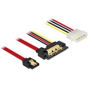 SATA 6 Gb/s Buchse + Molex 4 Pin > SATA DELOCK 85230