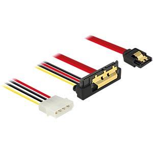 SATA 6 Gb/s Buchse + Molex 4 Pin > SATA DELOCK 85231
