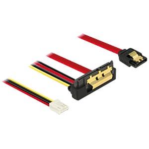 SATA 6 Gb/s Buchse + Floppy 4 Pin > SATA DELOCK 85235