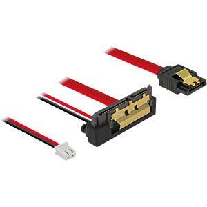 SATA 6 Gb/s Buchse + Strom Buchse > SATA DELOCK 85243