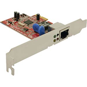 PCI Express x1 - Gigabit LAN DELOCK 89156