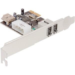 PCIe-Card 3 Port 1394a Firewire DELOCK 89121