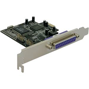 PCI Express x1 2 x serial, 1 x parallel DELOCK 89129
