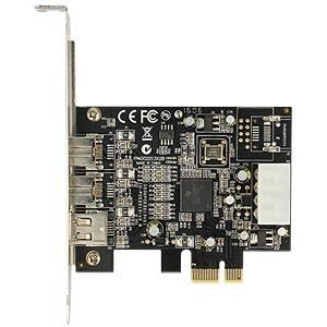 Firewirekarte PCI Express 1xA + 2xB extern DELOCK 89153