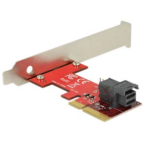 PCIe x4 > 1 x SFF-8643 NVMe DELOCK 89535