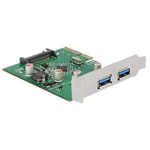 PCIe-Karte 2x USB 3.1 DELOCK 89554