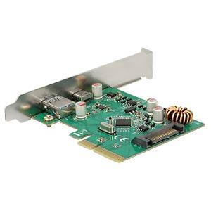 PCIe-Karte 2x USB 3.1 DELOCK 89562