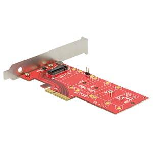 PCIe x4 > 1 x M.2 Key M NVMe DELOCK 89577
