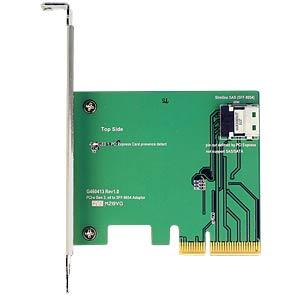 PCIe x4 Karte > 1 x intern SFF-8654 4i NVMe DELOCK 89585