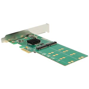 Konverter PCIe Karte > 4 x M.2 Key B Low Profile DELOCK 89588