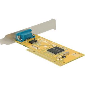 1 Port RS232, seriell, PCI Karte, Low Profile DELOCK 89592