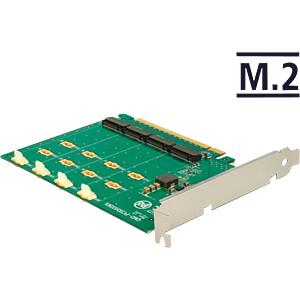 PCIe Card x16 > 4 x M.2 Key M NVMe SSD DELOCK 89835