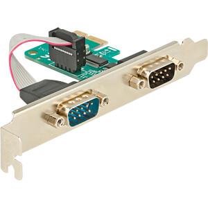 DELOCK 89918 - PCIe x1 > Seriell 2 x RS-232