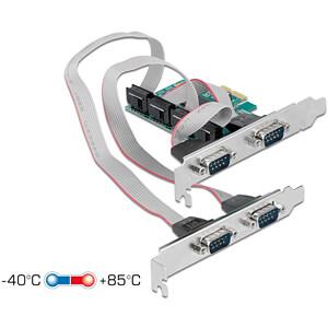 DELOCK 90410 - 4 Port RS 232