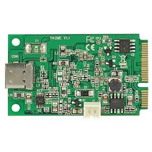 Mini PCIe I/O PCIe fullsize> 1x USB-C 3.1 Buchse DELOCK 95259