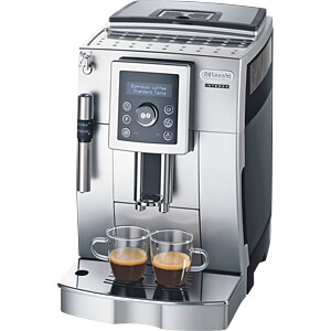 Fully automatic coffee machine with milk frother DELONGHI ECAM23 420 SB