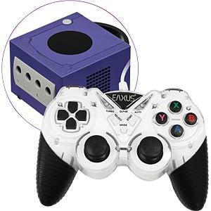 EAXUS 12696 - EAXUS Cube Classic Controller für GameCube/Wii