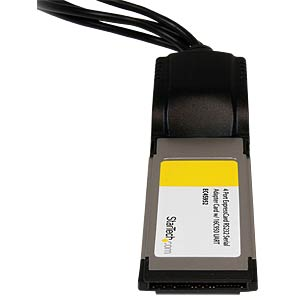 Express Card, 4x seriell RS232, SUB-D STARTECH.COM EC4S952